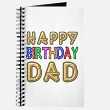 Happy Birthday Dad Journal