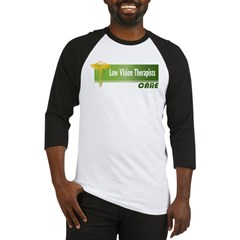 Low Vision Therapists Care Baseball Jersey