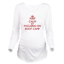 Boot Camp Long Sleeve Maternity T-Shirt