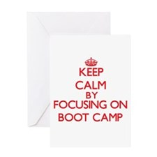 Boot Camp Greeting Cards