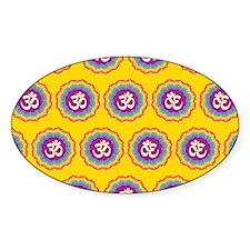 Seven Chakras pattern Decal