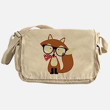 Unique Foxes Messenger Bag