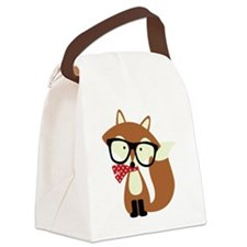 Unique Cute fox Canvas Lunch Bag