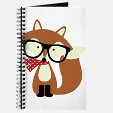 Holiday Hipster Brown Fox Journal