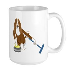 Basset Hound Curling Mug