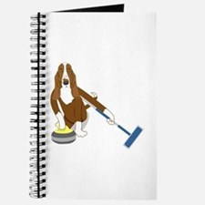 Basset Hound Curling Journal