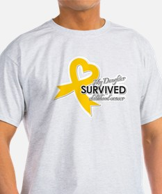 My Daughter Survived Childhood Cancer T-Shirt
