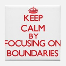 Boundaries Tile Coaster
