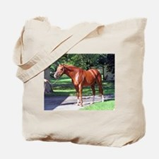 "SECRETARIAT - ""Big Red"" Tote Bag"
