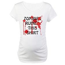 Zombies Ruined This Shirt Shirt