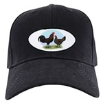 Redcap Fowl Black Cap