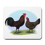 Redcap Fowl Mousepad