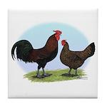 Redcap Fowl Tile Coaster