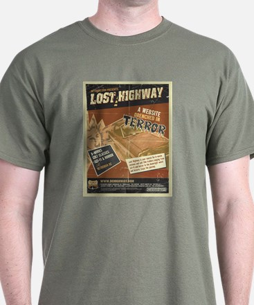 DC Lost Highway t-shirt