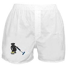 Black Lab Curling Boxer Shorts