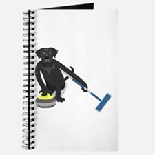 Black Lab Curling Journal