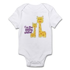 Little Sister Giraffe Infant Bodysuit