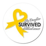 Childhood cancer awareness Car Magnets