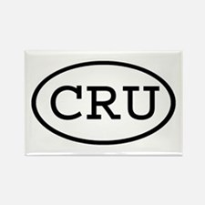 CRU Oval Rectangle Magnet