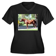 "SECRETARIAT - ""Big Red"" Plus Size T-Shirt"