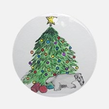 "Cesky Terrier ""My Tree"" Ornament (Round)"
