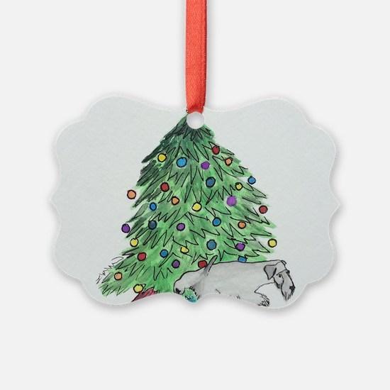 "Cesky Terrier ""My Tree"" Ornament"
