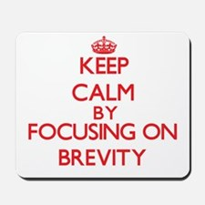 Brevity Mousepad