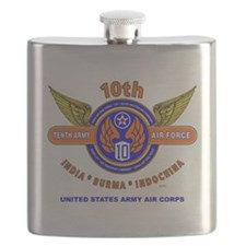 10TH ARMY AIR FORCE WORLD WAR II ARMY AIR CO Flask