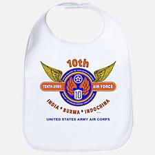 10TH ARMY AIR FORCE WORLD WAR II ARMY AIR CORP Bib