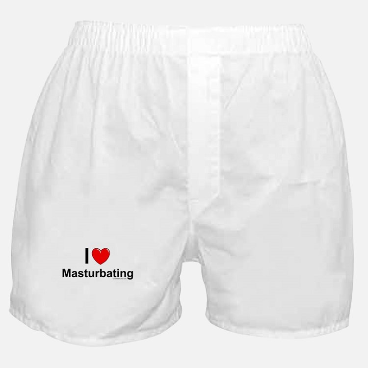 Masturbating Boxer Shorts