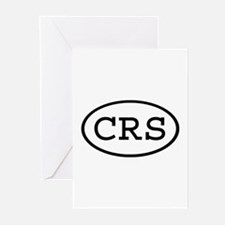 CRS Oval Greeting Cards (Pk of 10)