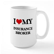 I love my Insurance Broker Mugs