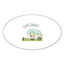 Gone Campin Decal