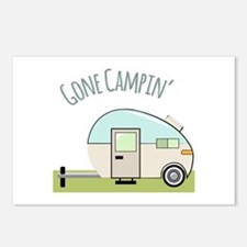 Gone Campin Postcards (Package of 8)