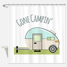 Gone Campin Shower Curtain
