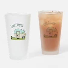 Gone Campin Drinking Glass
