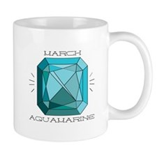 March Aquamarine Mugs