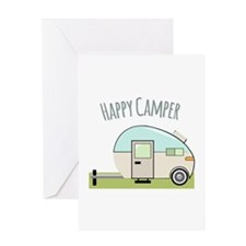 Happy Camper Greeting Cards