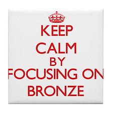 Bronze Tile Coaster