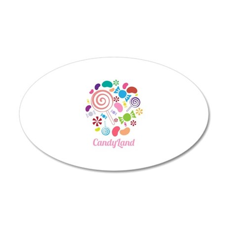 Candy land wall decal by windmill21 for Candyland wall mural
