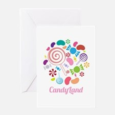 Candy Land Greeting Cards