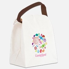 Candy Land Canvas Lunch Bag