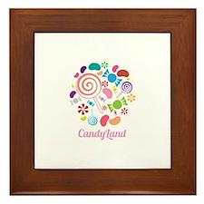 Candy Land Framed Tile