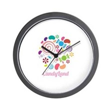Candy Land Wall Clock