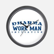 Work Man - Dharma Initiative Wall Clock