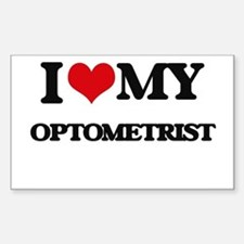 I love my Optometrist Decal