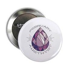 "February Amethyst 2.25"" Button (10 pack)"