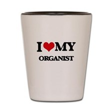 I love my Organist Shot Glass