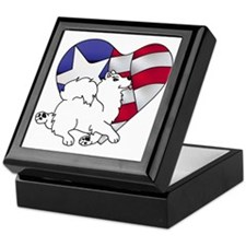 Cute Flag Keepsake Box