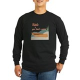 Paddle your own canoe Long Sleeve T-shirts (Dark)